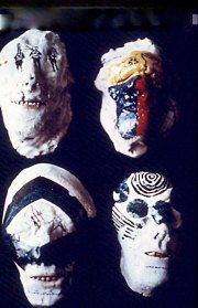 4 Ghost Masks